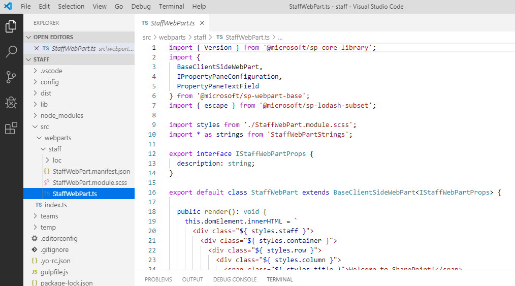 sharepoint edit project files